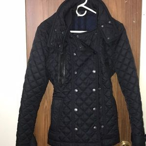 Burberry quilted jacket with inside hood